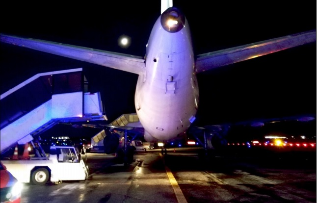 Finnair Airbus A320 OH-LXD at Helsinki After Cabin Crew Fall (Credit: SIAF)