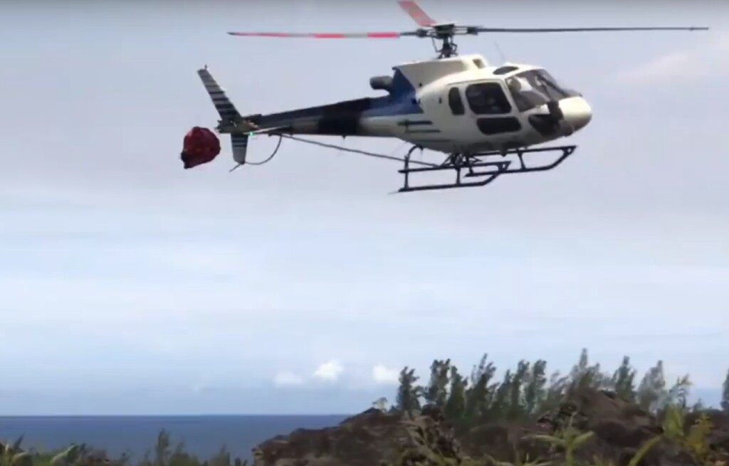 Hélilagon Airbus AS350B3e / H125 Yawing Anti-Clockwise (Credit: YouTube Video Posted by BK117)