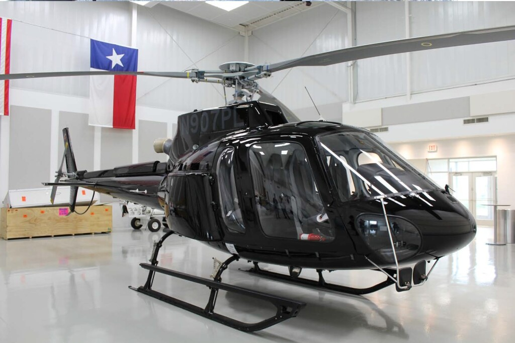 Airbus Helicopters AS350Be (H125) N907PL Before Delivery (Credit: via NTSB)