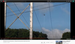 Video of an Aerial Saw In Action