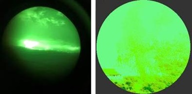 The Effect of a Ground Fire on NVG Performance: ALAT Cougar / Tiger MAC Impact over Mali (Credit: BEA-E)