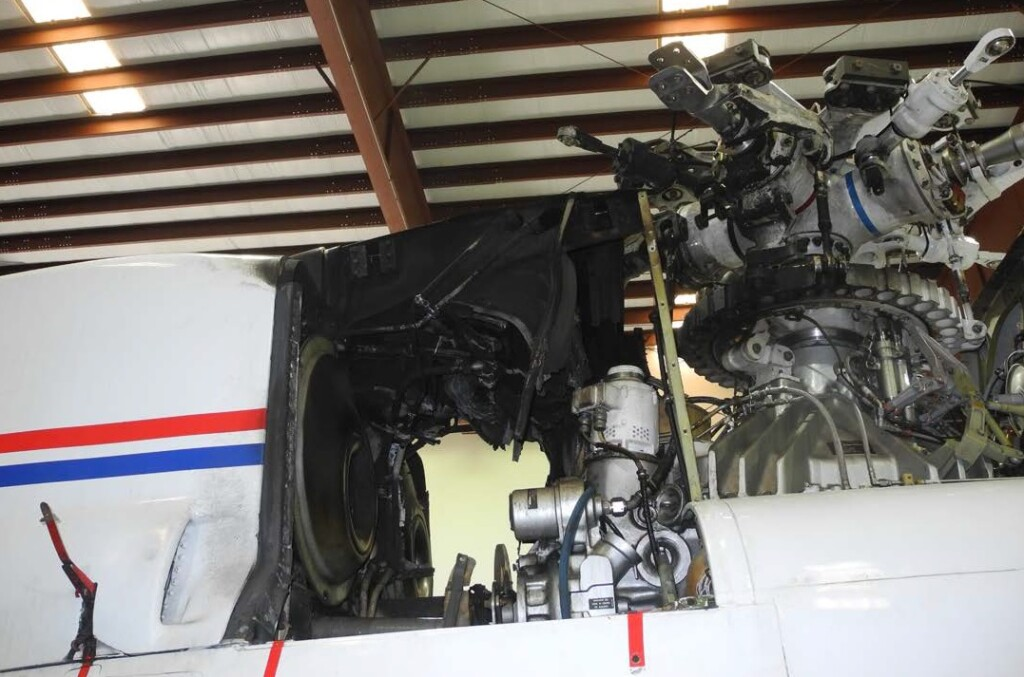 Rotor Brake Fire Trauma Star S-76A++ Air Ambulance N911FK (Credit: Sikorsky via NTSB)
