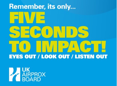 five seconds to impact avoiding mid-air collisions UK airprox board